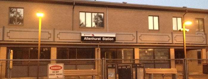 NJT - Allenhurst Station (NJCL) is one of New Jersey Transit Train Stations.