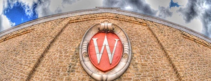 The Wisconsin Field House is one of Athletics.