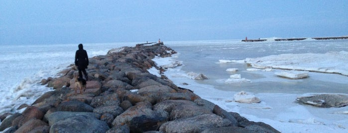 Rojas Mols is one of Skaistākie skati Kurzemes Ziemeļos.