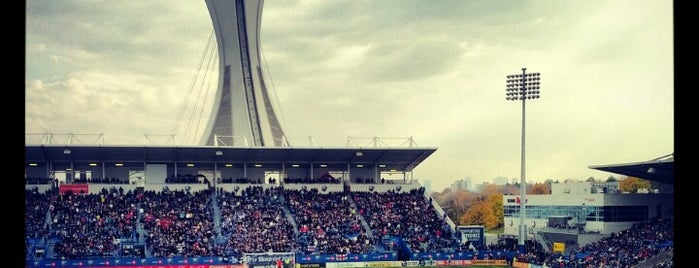 Stade Saputo is one of 2 do list # 2.