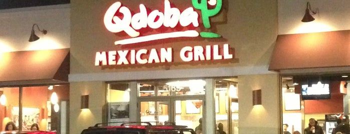 Qdoba Mexican Grill is one of Favorite Restaurants.