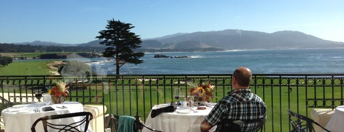 The Lodge at Pebble Beach is one of californouze.