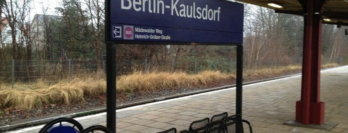 S Kaulsdorf is one of Besuchte Berliner Bahnhöfe.