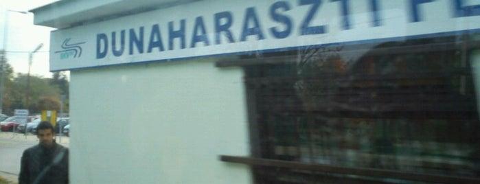 Dunaharaszti felső (H6) is one of Hév megállók.