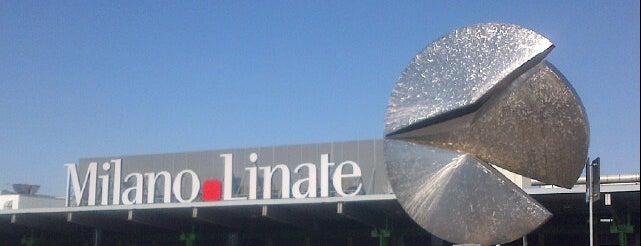 """Aeroporto di Milano Linate """"Enrico Forlanini"""" (LIN) is one of Airports."""