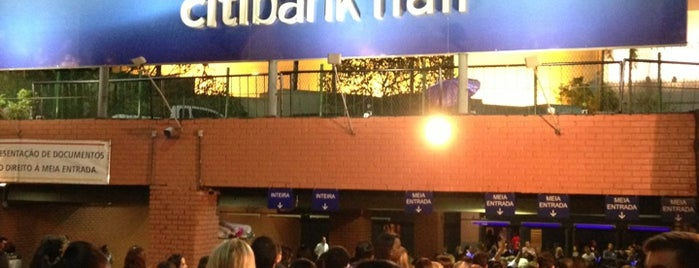 Citibank Hall is one of Rio Pra Mim.