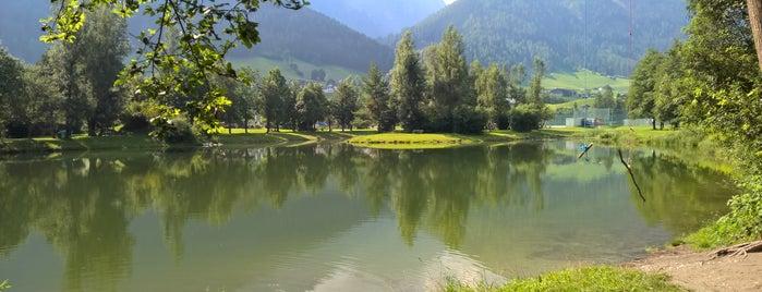 Kampler See is one of das schwimmwasser.