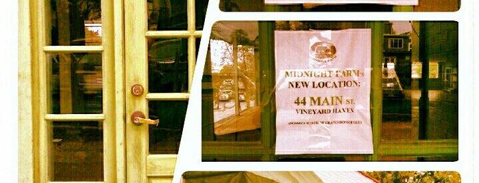 Midnight Farm is one of Martha's Vineyard.