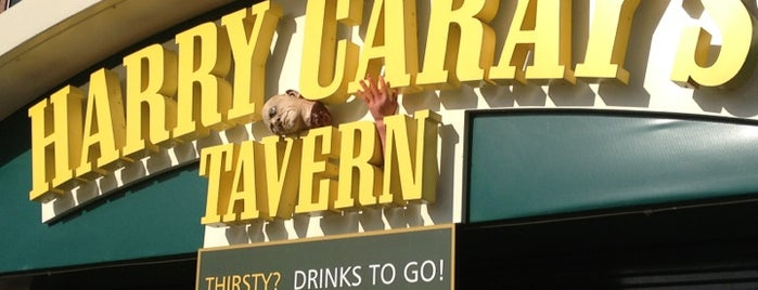 Harry Caray's Tavern is one of Official Blackhawks Bars.