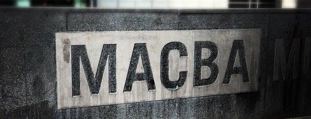 Museu d'Art Contemporani de Barcelona (MACBA) is one of bcn.