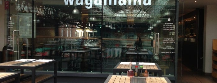Wagamama is one of #LoveE1.