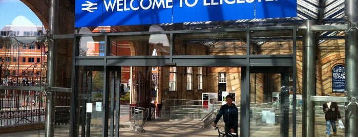 Leicester Railway Station (LEI) is one of Railway Stations in UK.