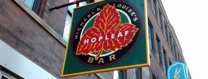 Hopleaf Bar is one of Where to go: Andersonville + Edgewater.