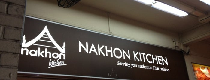 Nakhon Kitchen is one of Singapore Foodie.