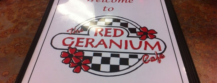 Red Geranium Cafe is one of Must-visit Food in Grand Rapids.