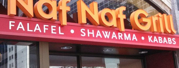 Naf Naf Grill is one of Explore Chicago West Loop.