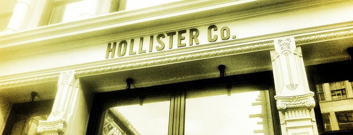 Hollister Co. is one of douchebags badge.