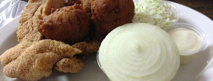 Newbern's Catfish House is one of Dining in the Shoals.
