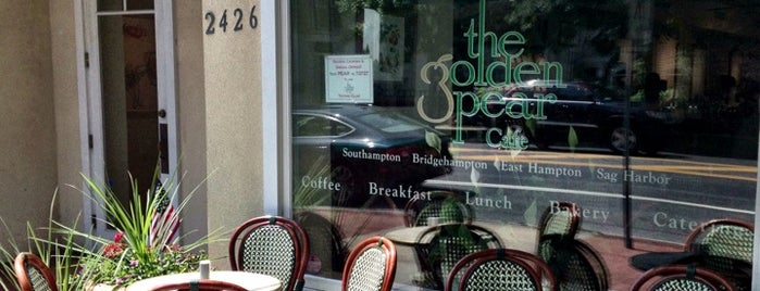The Golden Pear Cafe is one of Hamptons!.