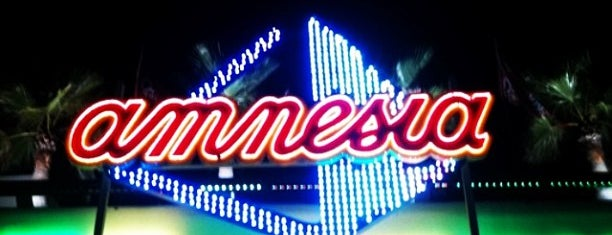 Amnesia Ibiza is one of P.A.T.T. (Party All The Time) !!.