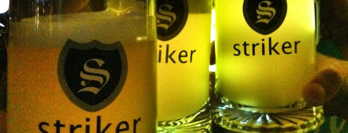 Striker Pub & Brewery is one of 9 Food + Music places in Delhi.
