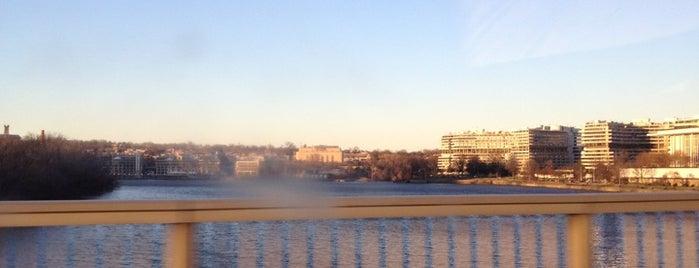 Theodore Roosevelt Memorial Bridge is one of Washington DC.