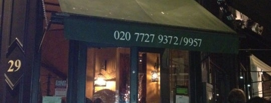 Osteria Basilico is one of London Restaurants.