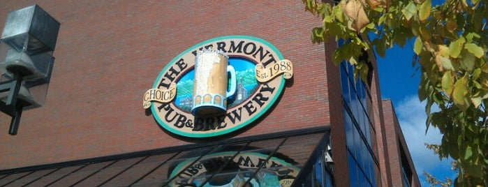 Vermont Pub & Brewery is one of New England Breweries.
