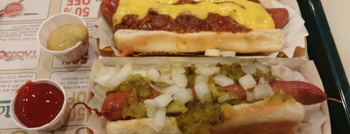 Nathan's Famous Hot Dogs is one of Vegas!.