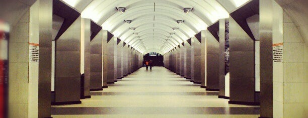 metro Sretensky Bulvar is one of Complete list of Moscow subway stations.