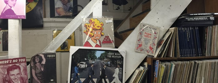Second Hand Rose Music is one of Record Shop.