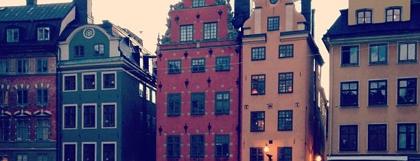 Gamla Stan is one of 36 hours in...Stockholm.