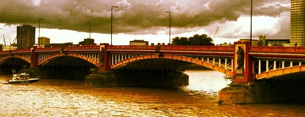 Vauxhall Bridge is one of Must-visit Great Outdoors in London.