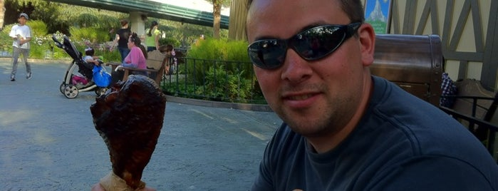 Central Plaza Turkey Leg Cart is one of a very strange and delightful day in disneyland.