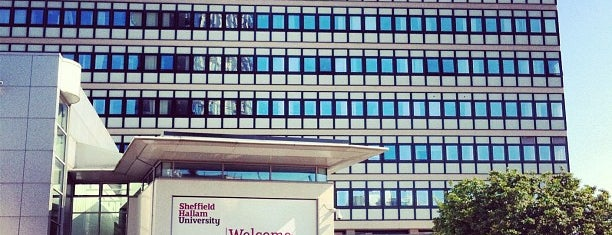 Sheffield Hallam University is one of Inspired locations of learning.