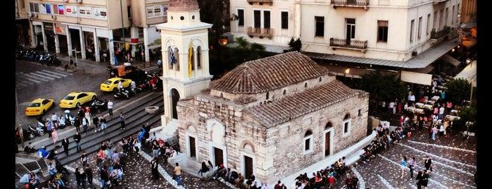 Πλατεία Μοναστηρακίου (Monastiraki Square) is one of Favorite Spots in Athens.
