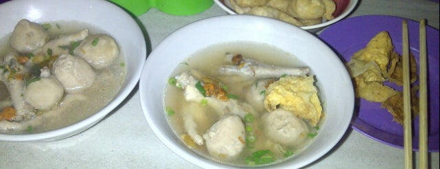 Bakso ceker jl.braga is one of Favorite Food.