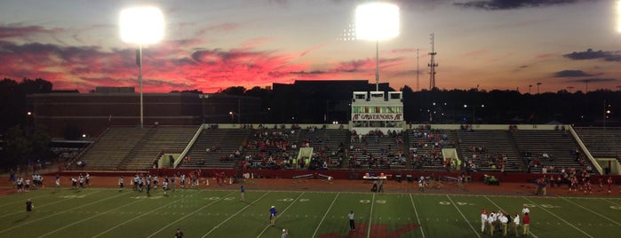 Governors Stadium is one of favs.