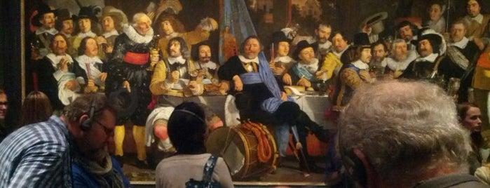 Rijksmuseum is one of Must-visit Musea Amsterdam.