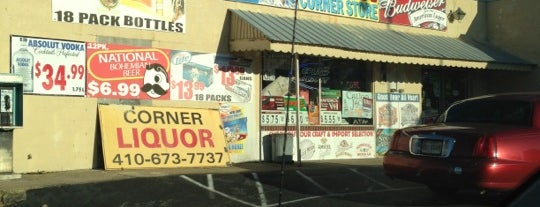 Mikes Corner Store is one of Hi*T Locations -  Maryland.