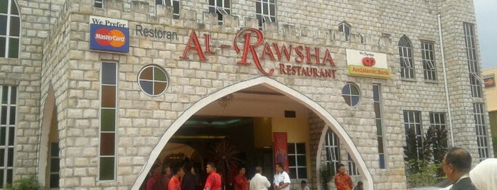Al Rawsha Restaurant is one of Must-visit Food in Kuala Lumpur.
