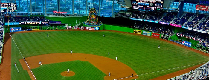 Marlins Park is one of HISTORY's Tips.