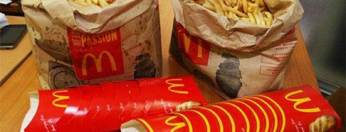 McDonald's is one of McDonald's Big Mac Lovers.