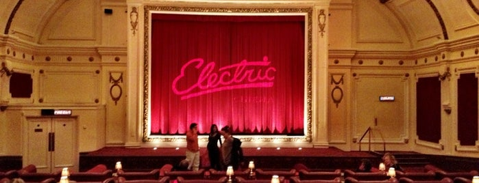 Electric Cinema is one of London.