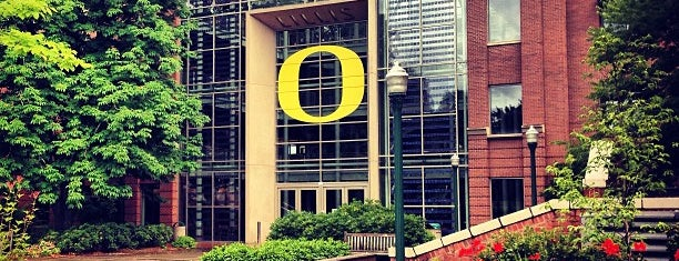 University of Oregon is one of B. Locations.