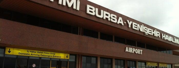 Bursa Yenişehir Havalimanı (YEI) is one of BURSASPOR 4sq.