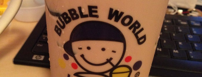Bubble World is one of Cafes to go to.