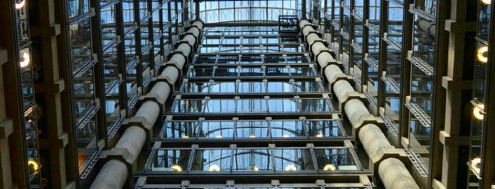 Lloyd's of London is one of Top 10 Lifts In London.