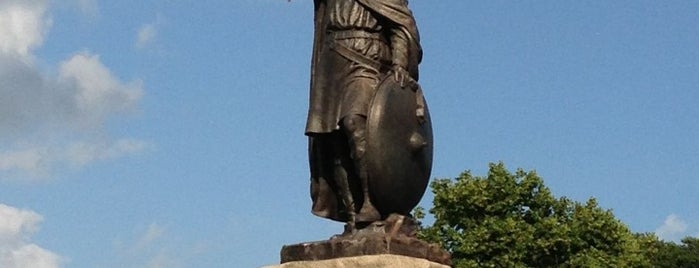King Alfred's Statue is one of Immersed English Activities.