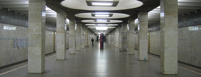 Метро Орехово (metro Orekhovo) is one of Complete list of Moscow subway stations.